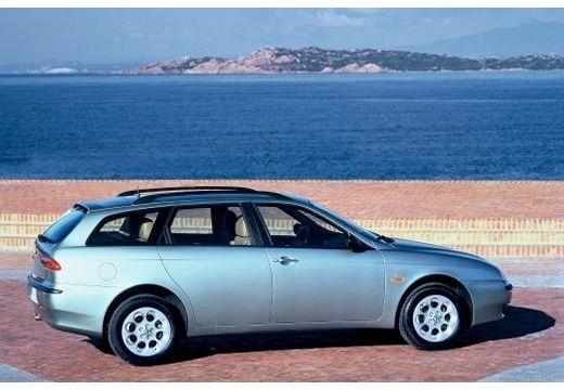ALFA ROMEO 156 Sportwagon I kombi silver grey tylny prawy