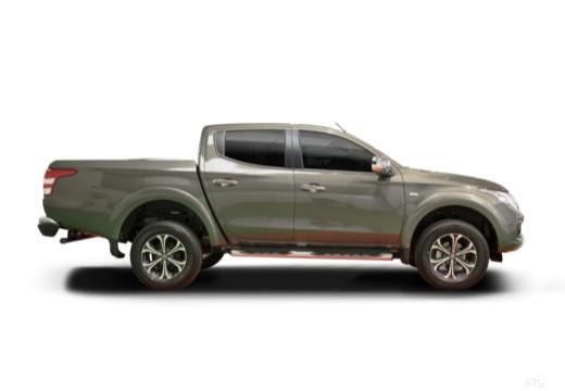 FIAT Fullback pickup szary ciemny boczny prawy