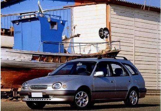 Toyota Corolla kombi silver grey przedni lewy