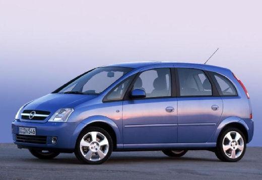 OPEL Meriva II hatchback niebieski jasny przedni lewy