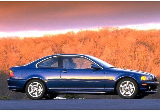 BMW Seria 3 E46 coupe niebieski jasny boczny prawy