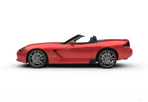 DODGE Viper Roadster II coupe boczny lewy