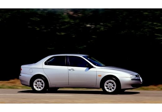 ALFA ROMEO 156 I sedan silver grey boczny prawy