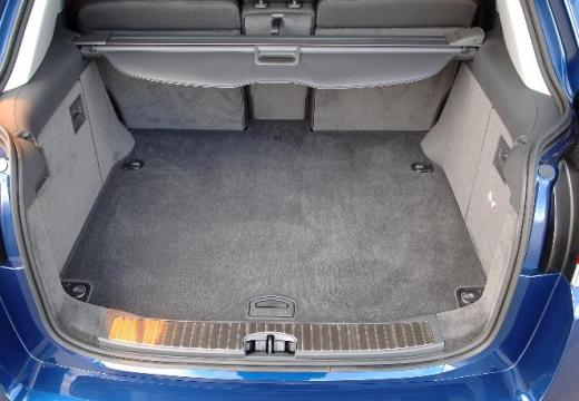 OPEL Signum II hatchback niebieski jasny przestrzeń załadunkowa