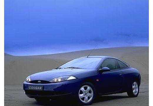 FORD Cougar coupe niebieski jasny przedni lewy