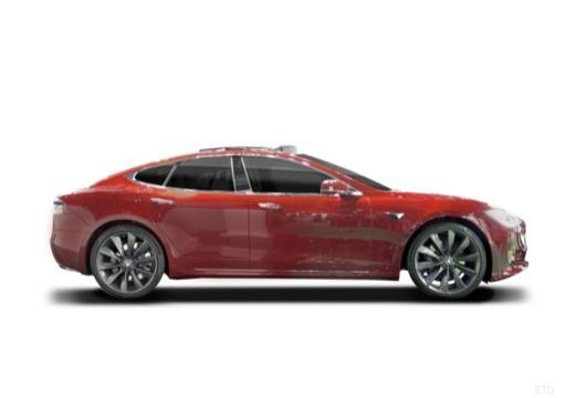 TESLA Model S hatchback boczny prawy