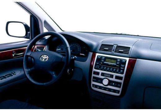 Toyota Avensis Verso I van tablica rozdzielcza
