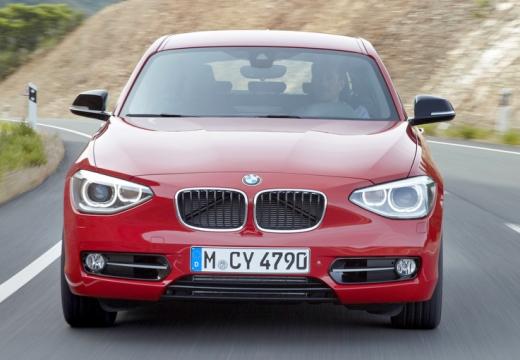 BMW Seria 1 F20 I hatchback czerwony jasny przedni