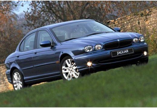 JAGUAR X-Type I sedan niebieski jasny przedni prawy