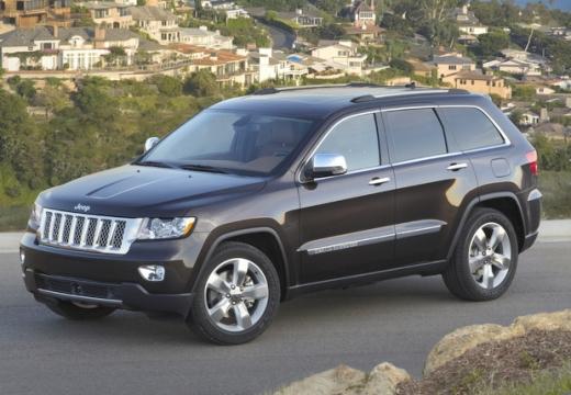JEEP Grand Cherokee V kombi czarny przedni lewy