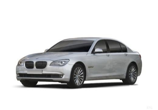 BMW Seria 7 F01 F02 I sedan silver grey przedni lewy