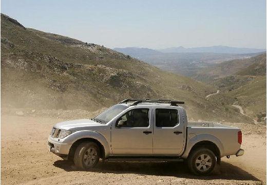 NISSAN Navara II pickup silver grey przedni lewy
