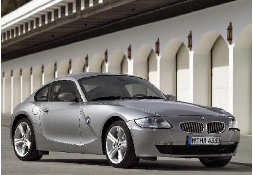 BMW Z4 coupe silver grey przedni prawy
