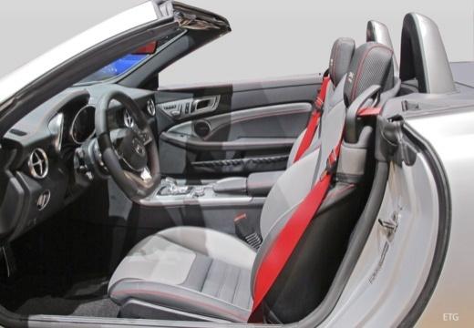 MERCEDES-BENZ Klasa SLK SLC R 172 roadster wnętrze