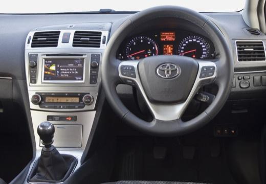 Toyota Avensis VI kombi silver grey tablica rozdzielcza