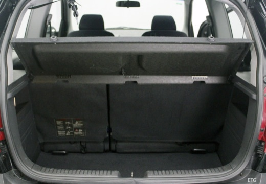 HYUNDAI Getz II hatchback przestrzeń załadunkowa