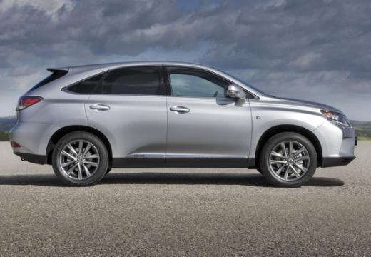 LEXUS RX III kombi silver grey boczny prawy