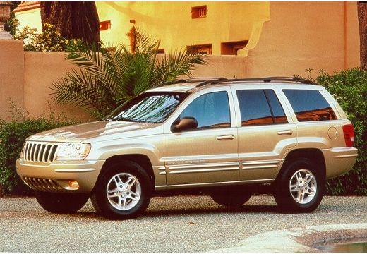 JEEP Grand Cherokee II kombi złoty przedni lewy