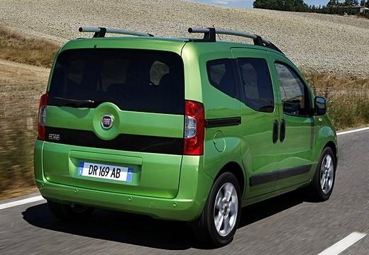 FIAT Fiorino Qubo kombi zielony tylny prawy