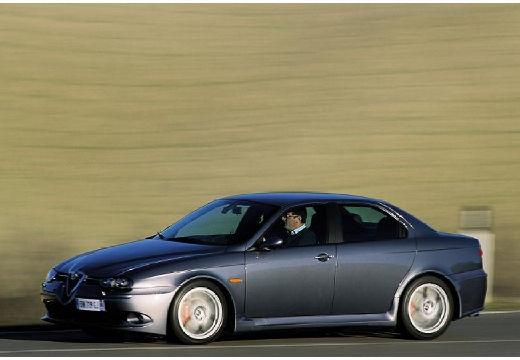 ALFA ROMEO 156 III sedan szary ciemny przedni lewy