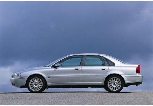 VOLVO S80 I sedan silver grey boczny lewy