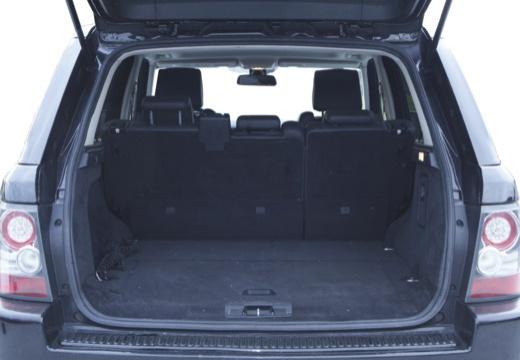 LAND ROVER Range Rover Sport III kombi czarny przestrzeń załadunkowa