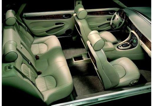 JAGUAR XJ III sedan wnętrze
