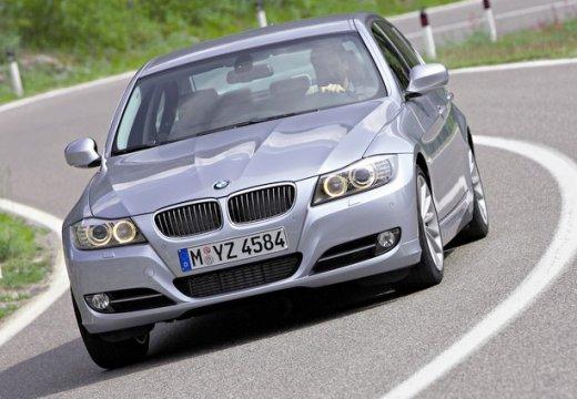BMW Seria 3 E90 II sedan szary ciemny przedni lewy