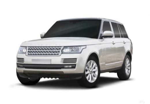 LAND ROVER Range Rover VI kombi biały przedni lewy
