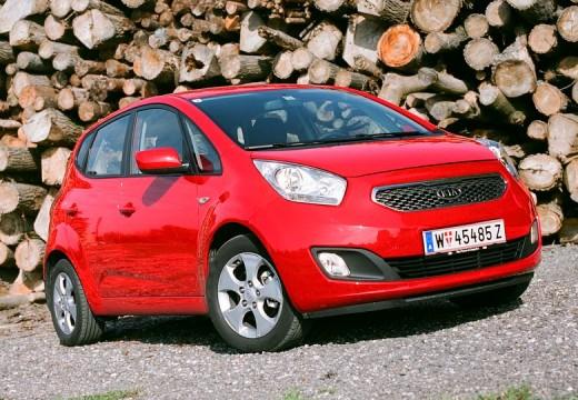 KIA Venga I hatchback czerwony jasny przedni prawy
