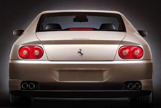 FERRARI 456 coupe szary ciemny tylny