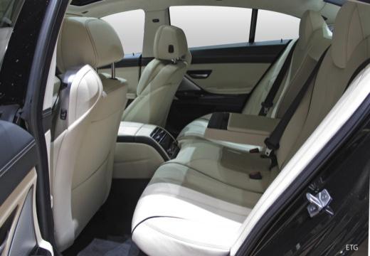 BMW Seria 6 Gran Coupe F06 II sedan wnętrze