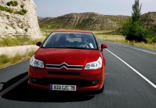 CITROEN C4 I hatchback czerwony jasny przedni