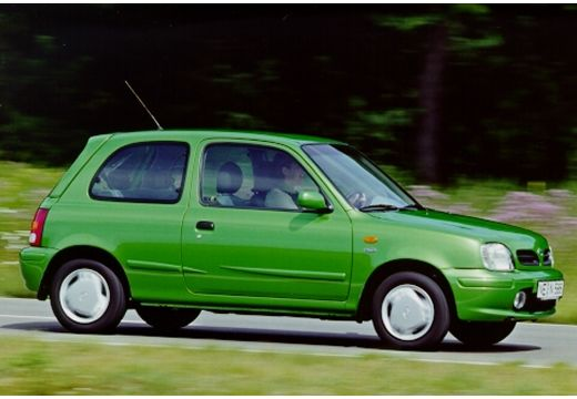 NISSAN Micra III hatchback zielony przedni prawy