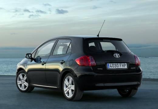 Toyota Auris I hatchback czarny tylny lewy