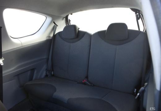 Toyota Aygo II hatchback wnętrze