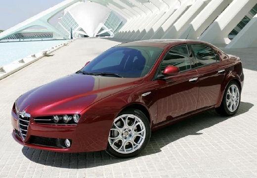 ALFA ROMEO 159 I sedan bordeaux (czerwony ciemny) przedni lewy