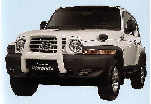 SSANG YONG Korando 230 Super Kombi II 2.3 150KM (benzyna)