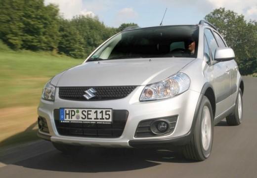SUZUKI SX4 II hatchback silver grey przedni lewy