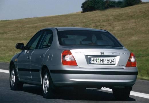 HYUNDAI Elantra II sedan silver grey tylny lewy