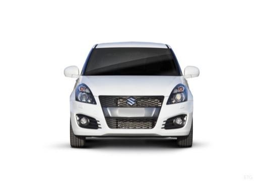 SUZUKI Swift II hatchback biały przedni
