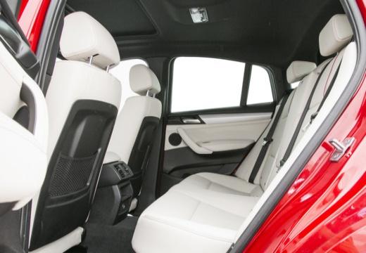BMW X4 X 4 F26 kombi czerwony jasny wnętrze