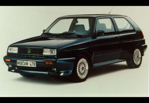VOLKSWAGEN Golf II hatchback czarny przedni lewy