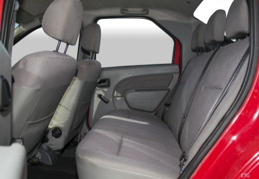 DACIA Logan I sedan wnętrze