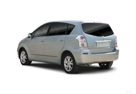 Toyota Corolla Verso III kombi mpv silver grey tylny lewy