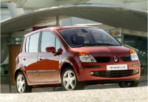 RENAULT Modus I hatchback czerwony jasny przedni prawy