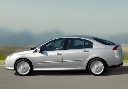 RENAULT Laguna III I hatchback silver grey boczny lewy