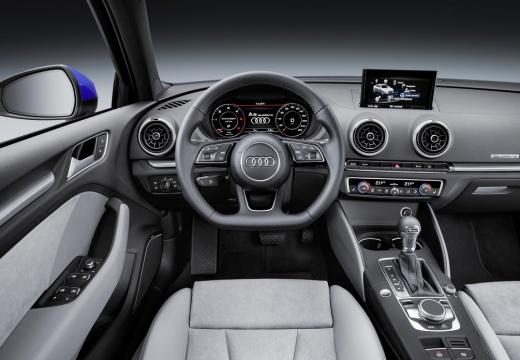 AUDI A3 sedan tablica rozdzielcza