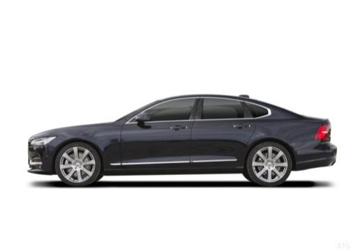 VOLVO S90 I sedan czarny boczny lewy