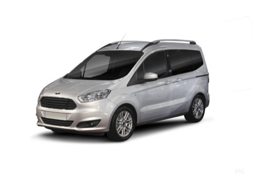 FORD Tourneo Courier I kombi silver grey